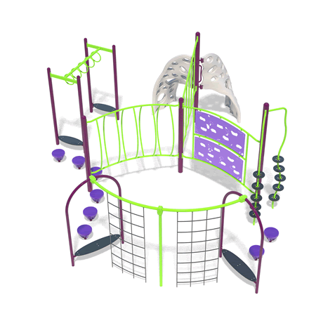 PlayFit Cosmic School Age Playground