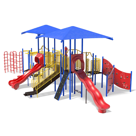 PlayFit Cloudcover School Age Playground