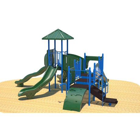 PlayFit Voyager School Age Playground
