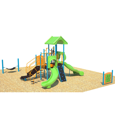 PlayFit Up-N-Down Scool Age Playground