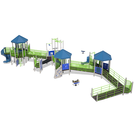 PlayMax Expedition School Age Playground