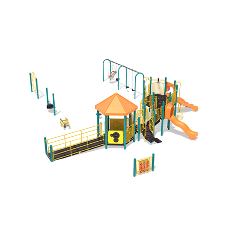 PlayMax Crusader School Age Playground