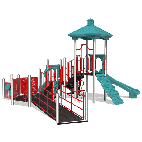 PlayMax Miami School Age Playground