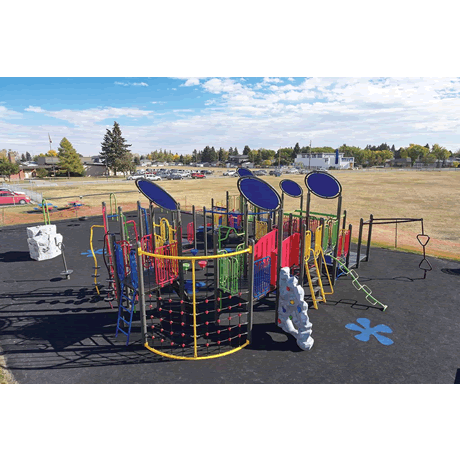 PlayMax Galaxy School Age Playground