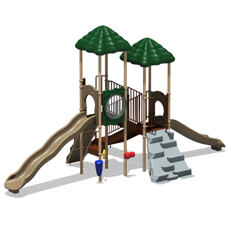 Double Bubble Playground - 15 to 20 Child Capacity