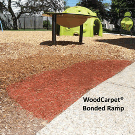 WoodCarpet Bonded Ramp