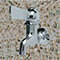 Chrome Plated Self-Closing Lever