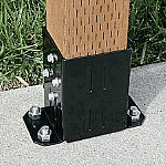 Post Mounting Bracket (for 3 posts)